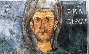 Un des plus anciens portrait de François d'Assise