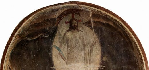 La découverte du tombeau vide, par Fra Angelico, fresque (1437-1446), musée national San Marco, Florence - wikicommons distributed by DIRECTMEDIA Publishing GmbH