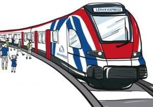Logo du Léman Express, à propos de son inauguration - CFF SNCF