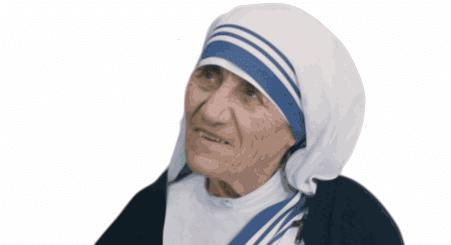 Mère Térésa- Image par OpenClipart-Vectors de Pixabay
