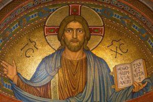 mosaïque représentant le Christ - Image par Thomas B. de Pixabay