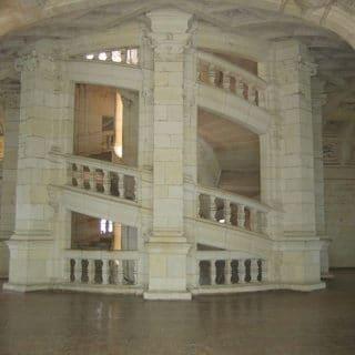 L'escalier à double vis de Chambord - wikipedia