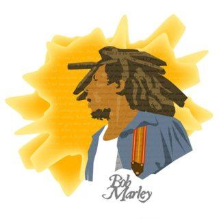 dessin représetant Bob Marley - Image par David Englund de Pixabay